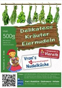 Kräuter Nudeln